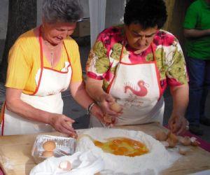 Monteleone Sabino festeggia le sue prelibate fettuccine alla trebulana