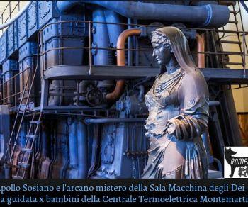Bambini - L'arcano Mistero della Sala Macchine degli Dei e del Treno a Vapore del Papa