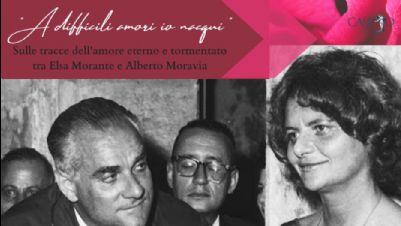 """Visite guidate - A difficil amori io nacqui"""": seguendo le tracce di Morante e Moravia"""