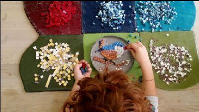 Bambini e famiglie - Giocare imparando: l'arte del Mosaico