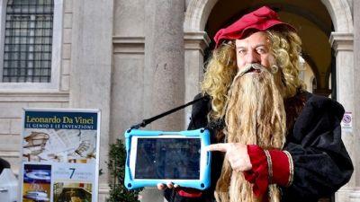 Mostre - Caccia al tesoro alla Mostra di Leonardo Da Vinci