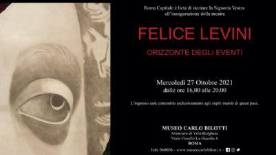 Mostre - Felice Levini. Orizzonte degli eventi