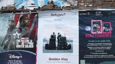 Mostre - L'opera Golden Visa di Rogelio López Cuenca