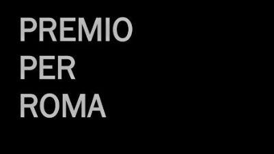 Mostre - Premio per Roma. I edizione