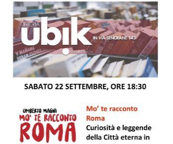 Libri - Mo' te racconto Roma