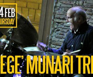 Locali: Gegè Munari Trio @ Gregory's Jazz Club