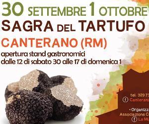 Sagre e degustazioni: Sagra del tartufo a Canterano (RM)