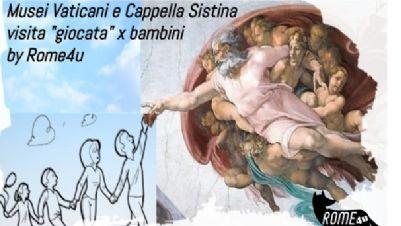 Bambini e famiglie: Cappella Sistina e Musei Vaticani spiegati ai bambini