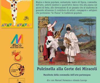 Spettacoli - Pulcinella alla Corte dei Miracoli