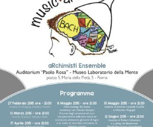 Il programma musicale 2015 degli aRchimisti Ensemble