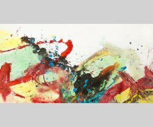 Esposizione narrata delle opere del laboratorio di action painting della Bottega dell'Arte di ANFFAS ROMA ONLUS nei Mercati di Traiano