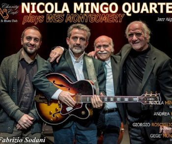 Locali - Nicola Mingo Quartet: omaggio A Wes Montgomery