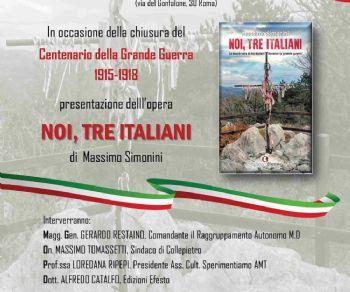 Libri - Noi, tre Italiani