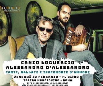 Canio Loguercio e Alessandro D'Alessandro