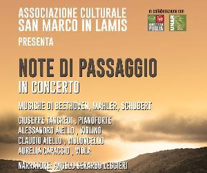 """un concerto di musica classica organizzato dalla neonata associazione culturale """"San Marco in Lamis"""""""