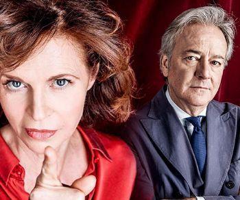 Anna Galiena e Corrado Tedeschi nello spettacolo tratto da Nuit D'Ivresse di Josiane Balasko