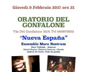 Concerti: Nueva España