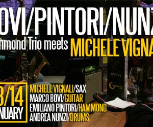 Bovi/Pintori/Nunzi e Michele Vignali @ Gregory's Jazz Club