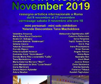 Gallerie - Art in Rome November 2019