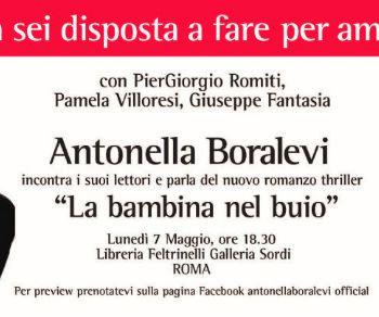 Antonella Boralevi presenta il suo libro