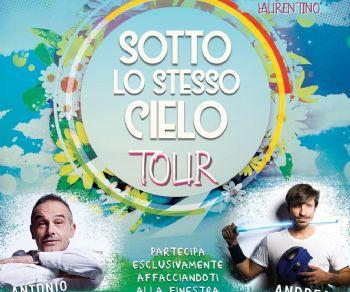 Spettacoli: Sotto lo Stesso cielo tour al Laurentino