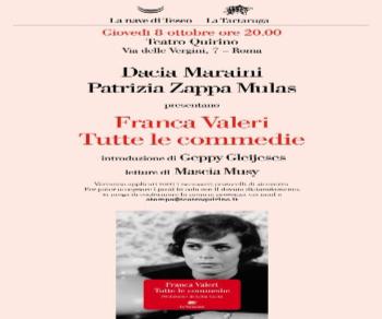 Libri: Franca Valeri 'Tutte le commedie'