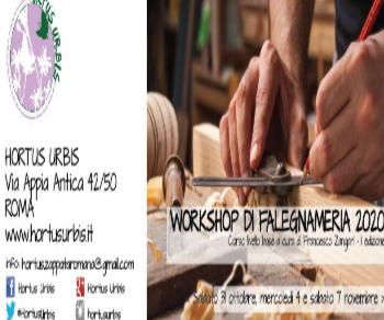 Altri eventi - Workshop di falegnameria