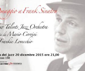 Mario Corvini, New Talents Orchestra. Special Guest Frankie Lovecchio