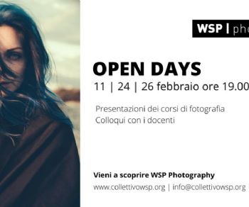 Serate - OPEN DAYS 2020 al WSP Photography