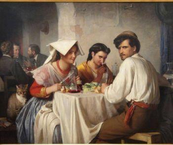 Passeggiata con cena in osteria
