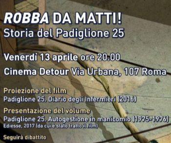 Proiezione del film e presentazione del volume