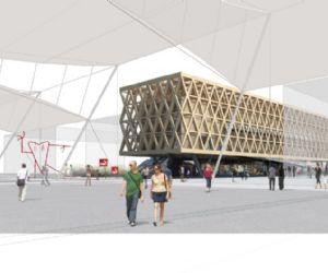 Presentazione del progetto di Cristián Undurraga per il Padiglione Cile