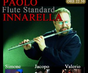 I classici del jazz interpreatati da Paolo Innarella col flauto