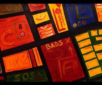 Una trama, una storia, la storia di Roma, dei suoi quartieri, delle nostre emozioni... raccontata attraverso le opere dell'artista Paolo P.