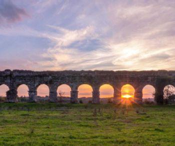 Locandina evento: Archeotrekking al Parco degli Acquedotti