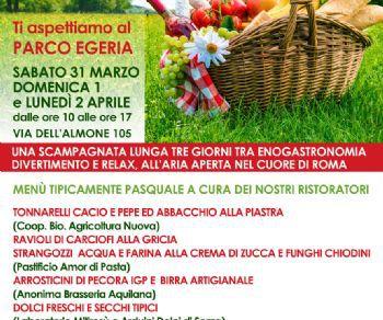 Sagre e degustazioni: Pasqua con chi vuoi... ti aspettiamo al Parco Egeria