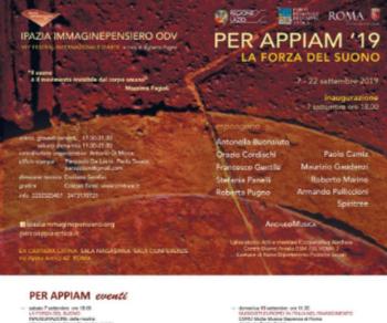 Festival - Per Appiam 2019