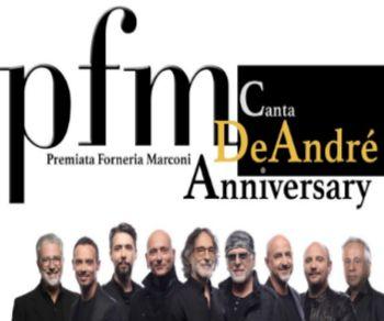 Locandina: PFM canta De André Anniversary