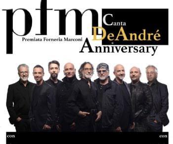 Concerti - PFM canta De André - Anniversary