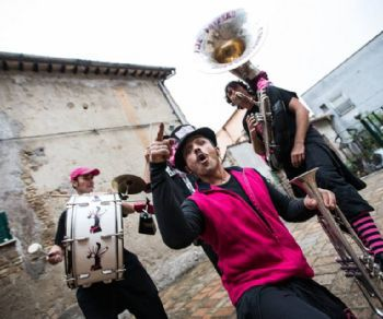 Concerti: Pink Puffers Brass Band in concerto