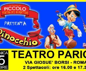 Due spettacoli al teatro Parioli