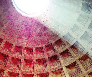 Visite guidate - Aspettando la Pentecoste e la tradizione della pioggia di petali al Pantheon