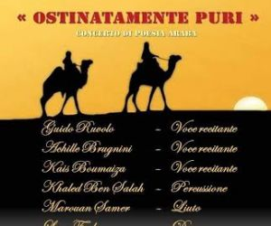 Un concerto teatrale di poesia araba dalle origini ai giorni nostri