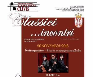 un Concerto di musica contemporanea Serba