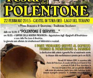 """A Castel di Tora la """"Festa del Polentone"""" segna da sempre l'inizio della Quaresima"""