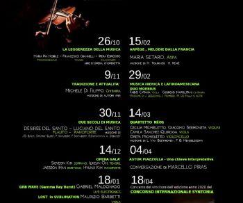 Concerti - Five o'clock | Pomeriggi musicali & tea break