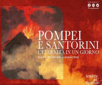 Mostre - Pompei e Santorini. L'eternità in un giorno