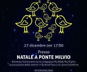 #maipiùsposebambine Incontro con Amnesty @ Ponte Milvio