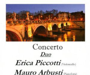 Duo Erica Piccotti (Violoncello) e Mauro Arbusti (Pianoforte)