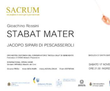 Concerti - Sacrum - una preghiera in musica per la pace universale